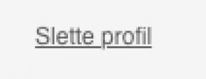 C-date Slette profil